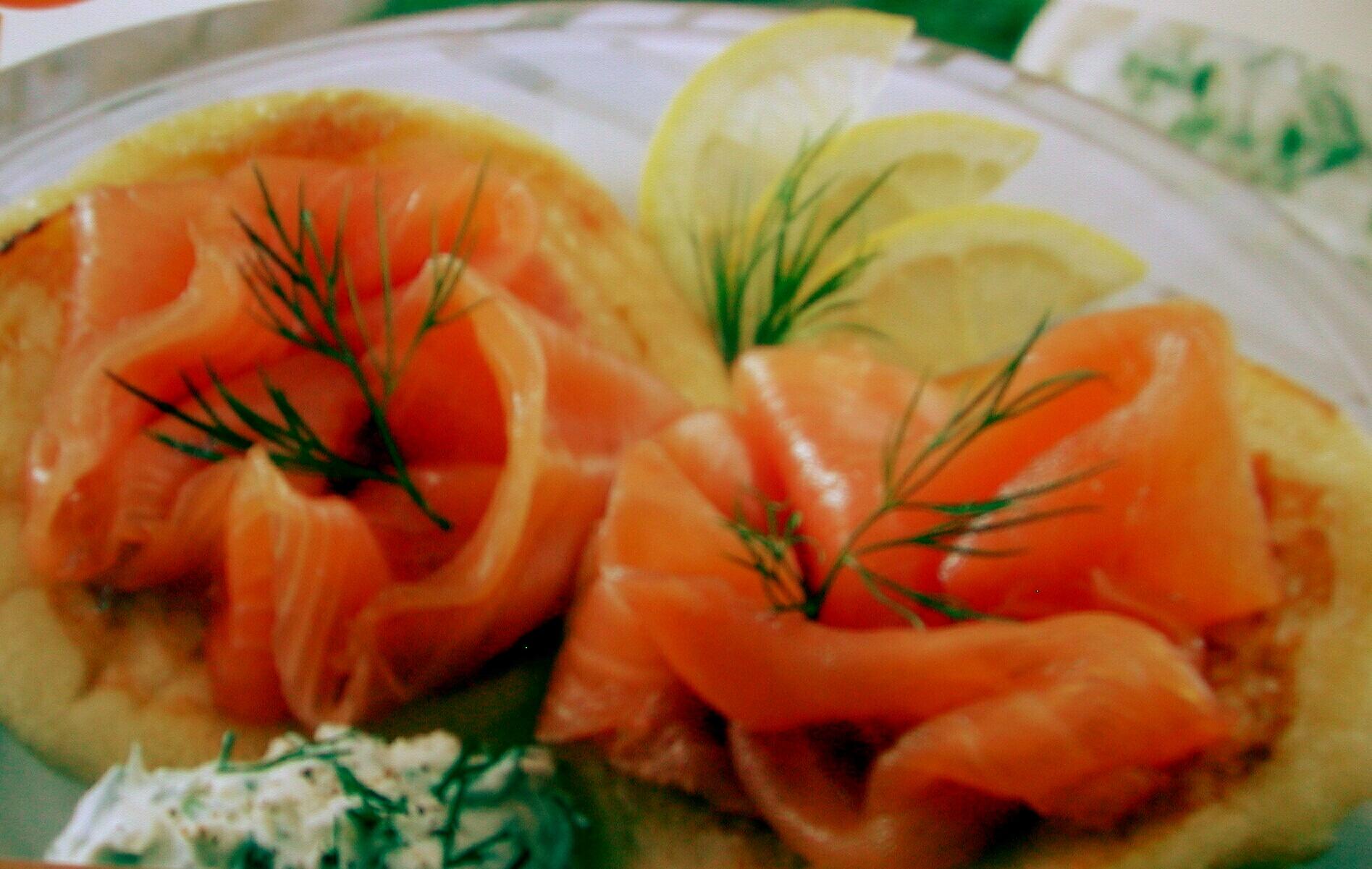 Saumon à l'huile d'olive et aux herbes