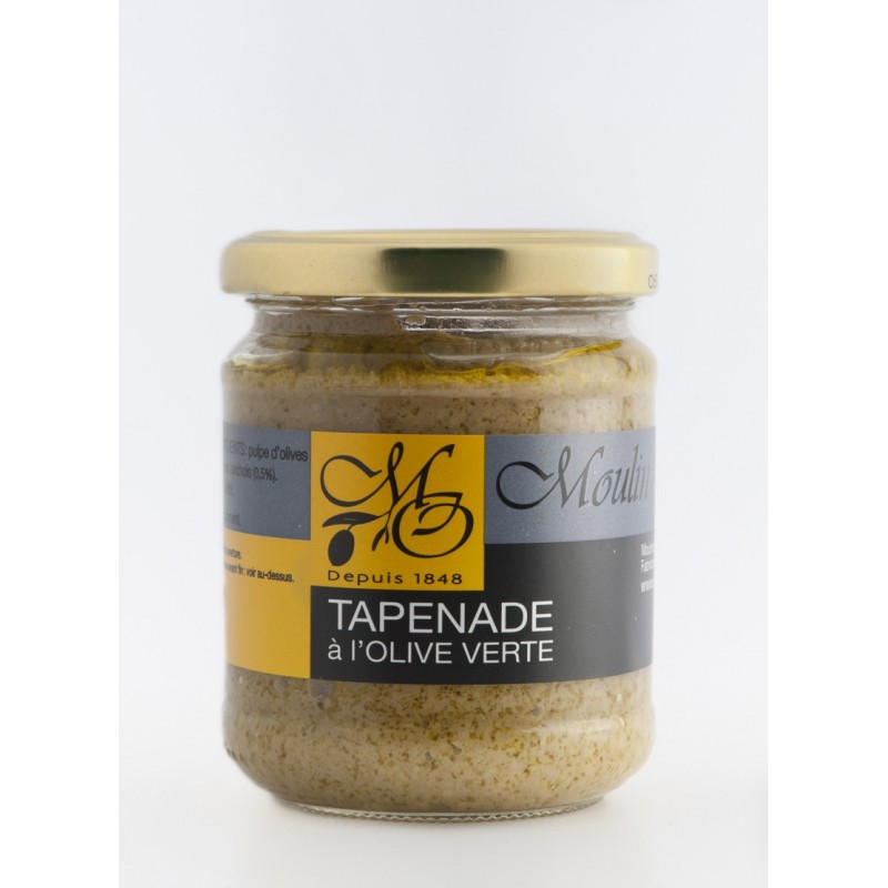 pot 180g tapenade aux olives vertes. Black Bedroom Furniture Sets. Home Design Ideas