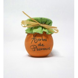 Pot en terre cuite 70g Herbes de Provence