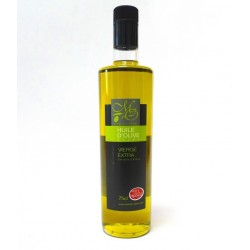 Bouteille 75cl Huile d'Olive Vierge Extra Douce