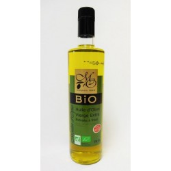 Bouteille 75cl Huile d'Olive Vierge Extra BIO
