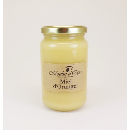 Orange tree Honey Glass jar of 500 g