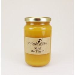 Thyme Honey Glass jar of 500 g