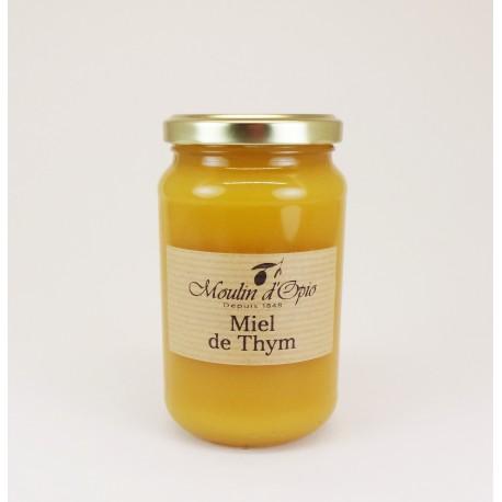 Thyme Honey Glass jar of 500 g