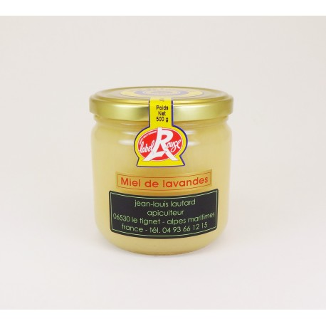 Lavender Honey Glass jar of 500 g