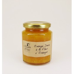 Pot 330g Confiture d'Orange douce