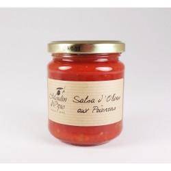 Salsa d'Olives aux Poivrons 210g