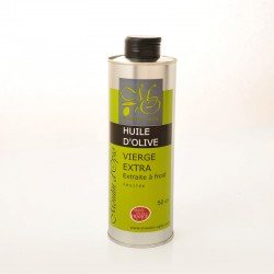 Bidon 50cl Huile d'Olive Vierge Extra Fruitée