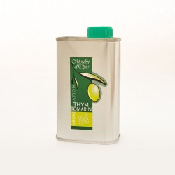 Olive Oil aromatized with Thyme and Rosemary 25 cl