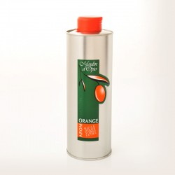 Bidon 50cl Huile d'olive au Orange