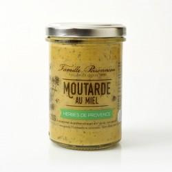 Pot 210g Moutarde herbes de Provence et Miel