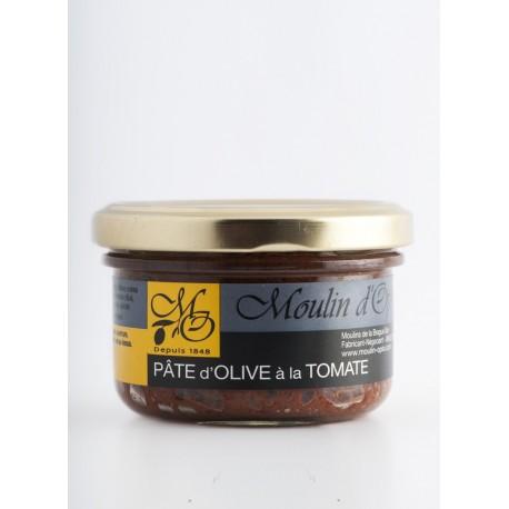 Pot 90g Pate d'Olive noire à la tomate