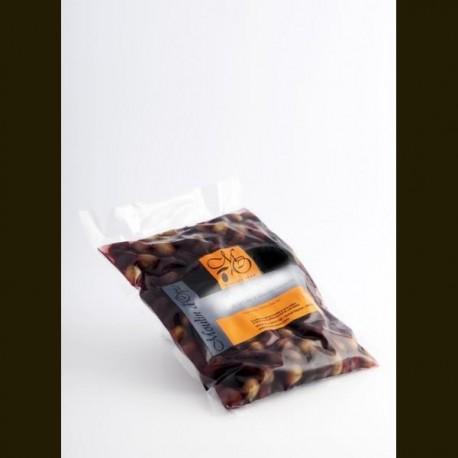 Poche 200g Petites Olives Noires à l'Huile