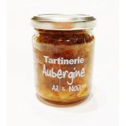 Tartinerie Aubergine Ail & Noix 180g