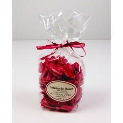 Pétales de Rose Cristallisés 100g