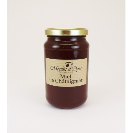 Chestnut tree Honey Glass jar of 500 g