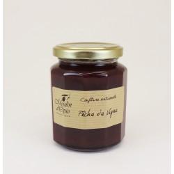 Vine Peach Jam Glass jar of 330 g
