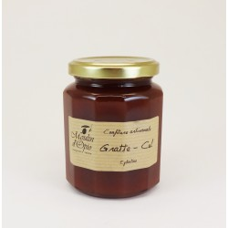 """Gratte-cul"" (Eglantine) Jam Glass jar of 330 g"