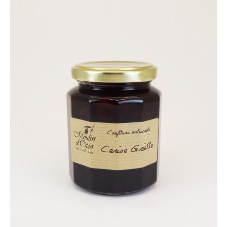 Griotte Cherry Jam Glass jar of 330 g