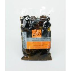 Poche 200g Olives noires à la grecque huile et herbes de Provence