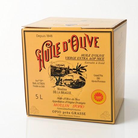 5L (169Fl.oz) Can Olive Oil AOP of Nice