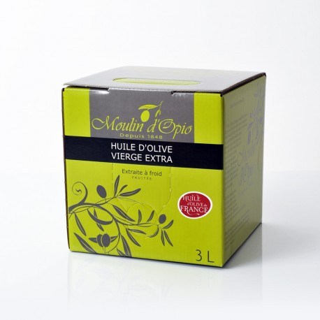 5L (169Fl.oz) Can Fruity Olive Oil