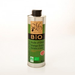 Bidon 50cl Huile d'Olive Vierge Extra BIO