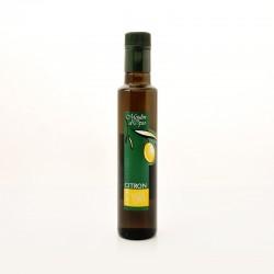 Bouteille 25cl Huile d'olive au Citron