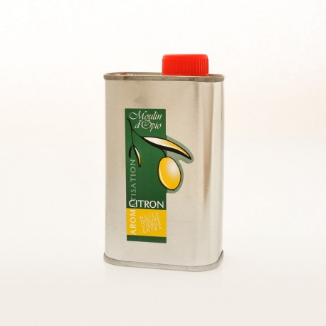 Bidon 25cl Huile d'olive au Citron