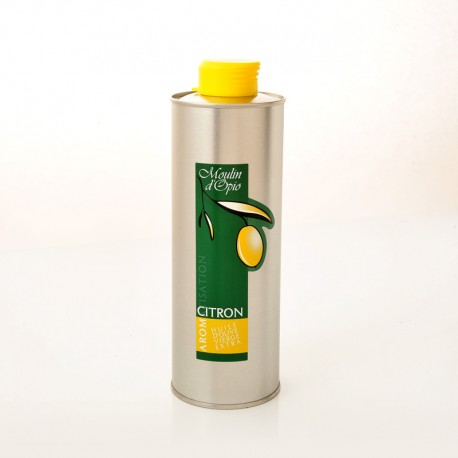 Olive Oil aromatized with Lemon 25 cl