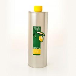 Bidon 1L Huile d'olive au Citron