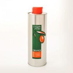 Bidon 50cl Huile d'olive au Orange