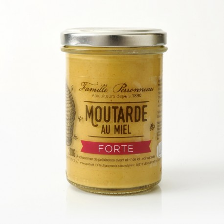 Strong mustard with Honey 200 g