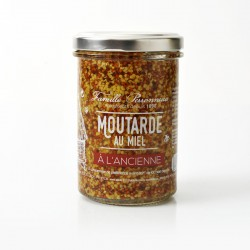 Pot 210g Moutarde à l'ancienne au Miel