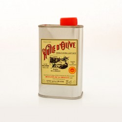 Bidon 25cl Huile d'Olive Vierge Extra AOP Nice